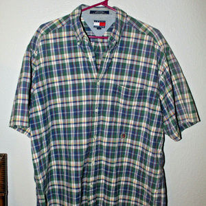 Tommy Hilfiger Button Down Shirt Plaid